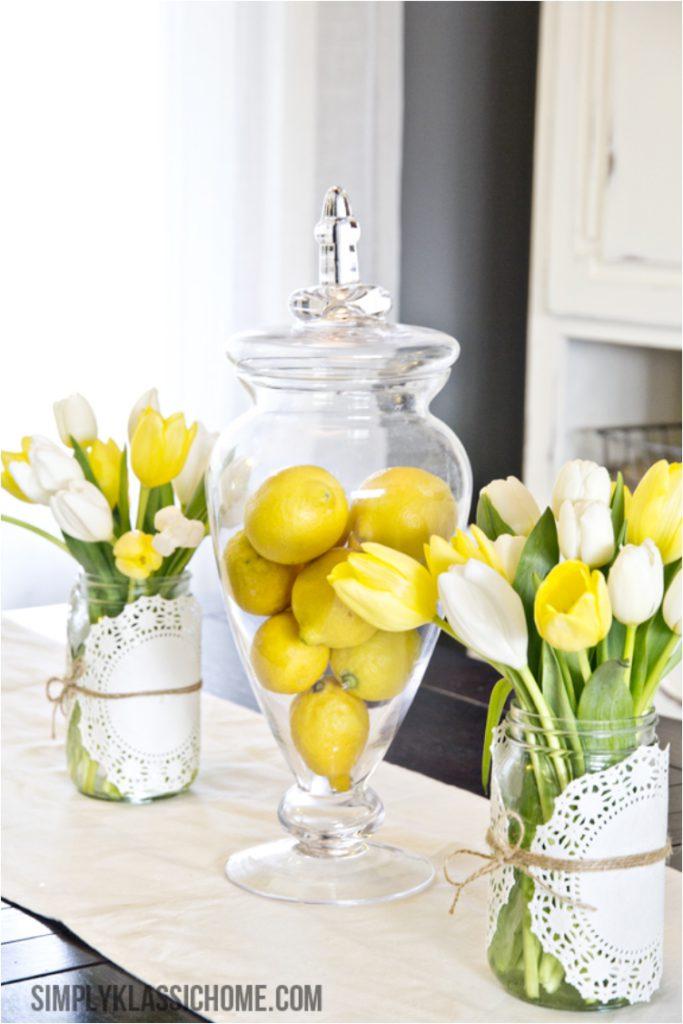 Centro Mesa Limones