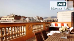 alquiler atico eixample vistas barcelona